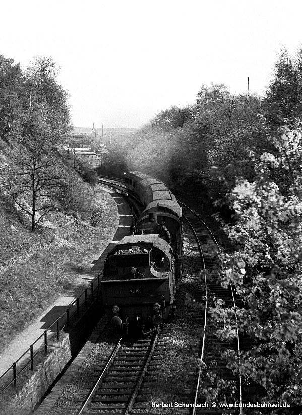 Die Bundesbahnzeit - Mit HS unterwegs - Das Bw Bochum Dahlhausen
