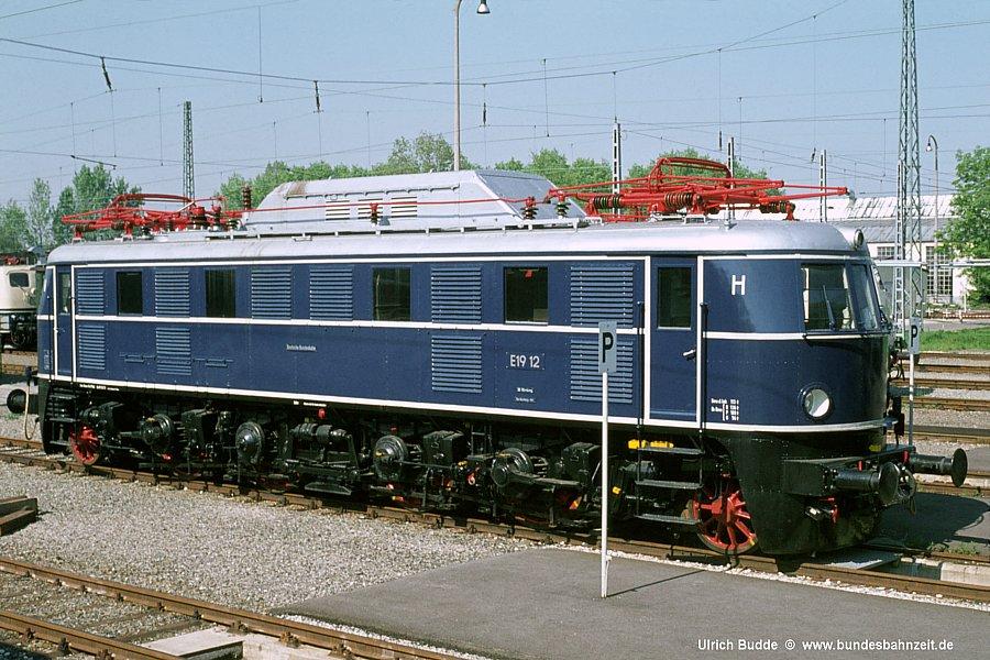 Die Bundesbahnzeit E19 Die Nuernberger Edelhirsche